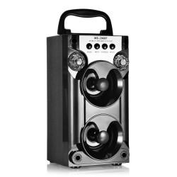 Boxa portabila bluetooth, USB, radio, microSD, AUX - ms 206bt