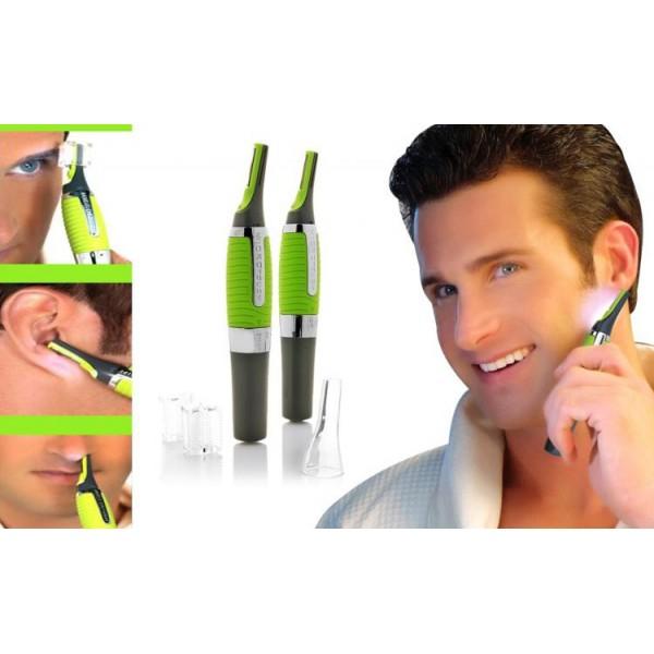 cautireduceri.ro-Trimmer facial - Creat sa ajunga unde nu pot lamele sau foarfeca, pentru un tuns sigur si precis